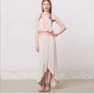 Anthro The Addison Story Color Block Maxi Dress